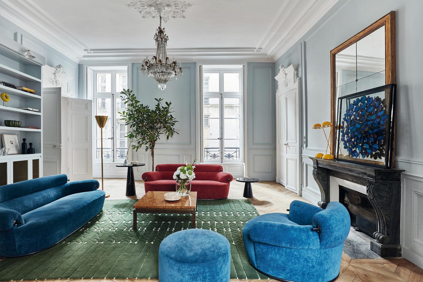 INTÉRIEUR – UNE AMÉRICAINE À PARIS – Maisons et Ambiances